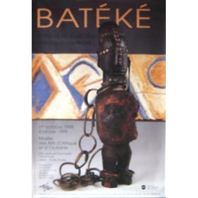 Musee Des Arts D'afrique Et D'oceanie-Bateke (French Rolled) Movie Poster