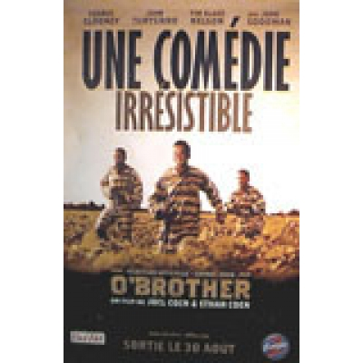 o brother where art thou poster  BROTHER, WHERE ART THOU (FRENCH