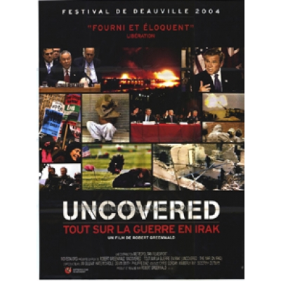 Uncovered: the War on Iraq (French - Folded) Movie Poster