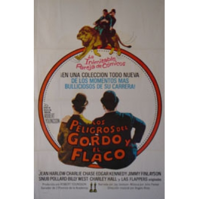 The Further Perils of Laurel and Hardy (Spanish) Movie Poster