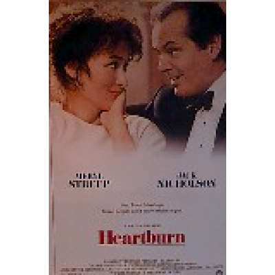 Heartburn Movie Poster