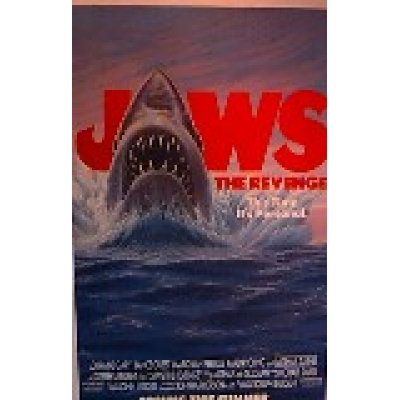 Jaws:the Revenge Movie Poster