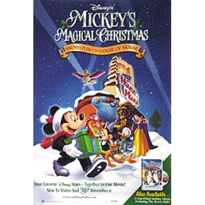 MICKEY'S MAGICAL CHRISTMAS: SNOWED IN AT THE HOUSE OF MOUSE (VIDEO ...