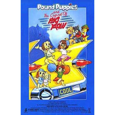 Pound Puppies and the Legend of Big Paw POUND PUPPIES AND THE LEGEND OF BIG PAW Movie Poster Stargate Cinema