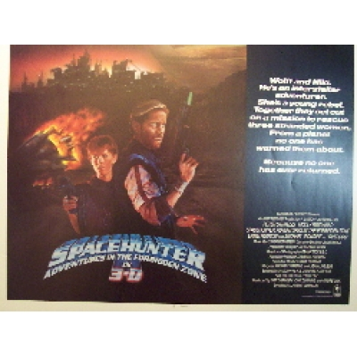 Spacehunter: Adventures in the Forbidden Zone (Half Sheet) Movie Poster