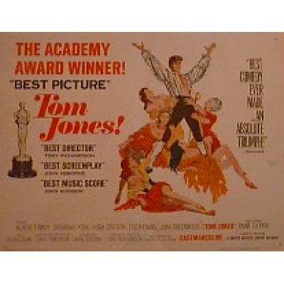 Tom Jones (Half Sheet) Movie Poster