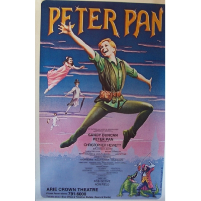 Peter Pan (Chicago Production With Sandy Duncan)
