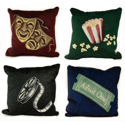 4 Or More Deluxe Home Theater Pillows Stargate Cinema
