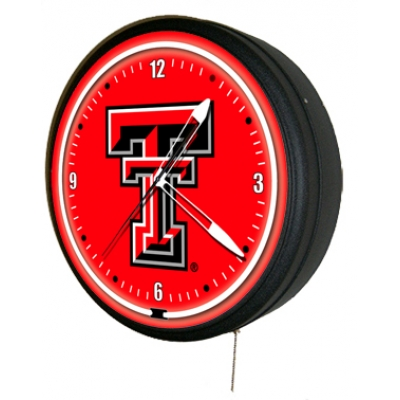 Texas Tech University Red Raiders Jumbo Neon Clock