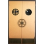 Sample Door with Ports and Theater Pulls