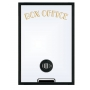Home Theater Box Office Mirror with Basic Frame