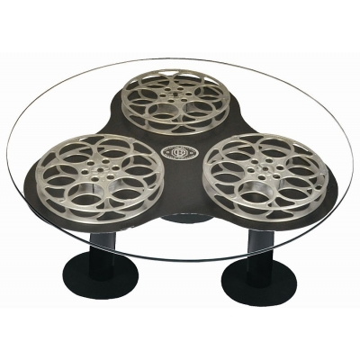 "Triple 42""  Film Reel Coffee Table"