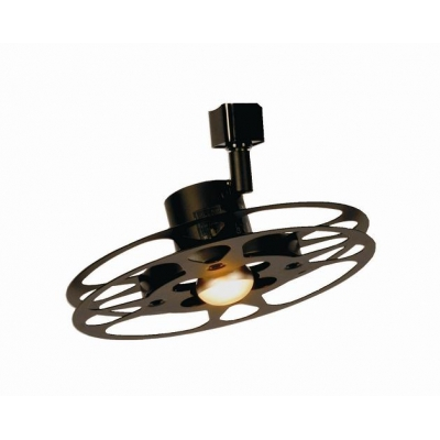 deluxe track 9 1 4 16 mm can reel light fixture
