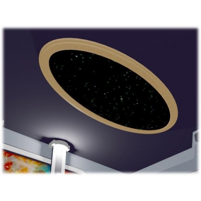 Oval Ceiling Star Panel 4x8
