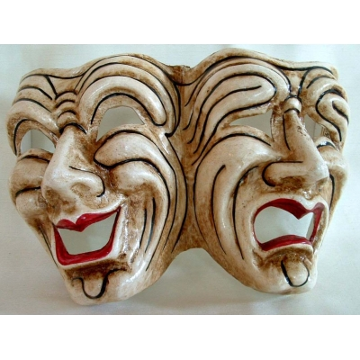 Comedy and Tragedy Theater Mask Set