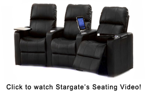 How to select home theater seating - Stargate Cinema